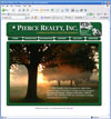 Pierce Realty, Inc. Web Design by Pierce Creative Marketing Service